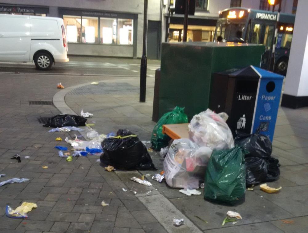 ipswich rubbish problem