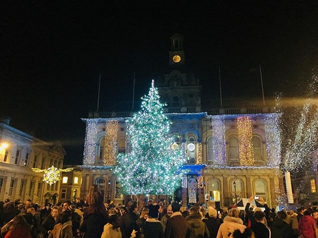 Double lights switch-on this year, as the bauble tree will be lit at 6:45pm on 22nd Nov at the same time as the real tree in the Cornhill.  Also be sure to check out Ghost Caribou, the amazing illuminated creatures taking to the streets on the same night!