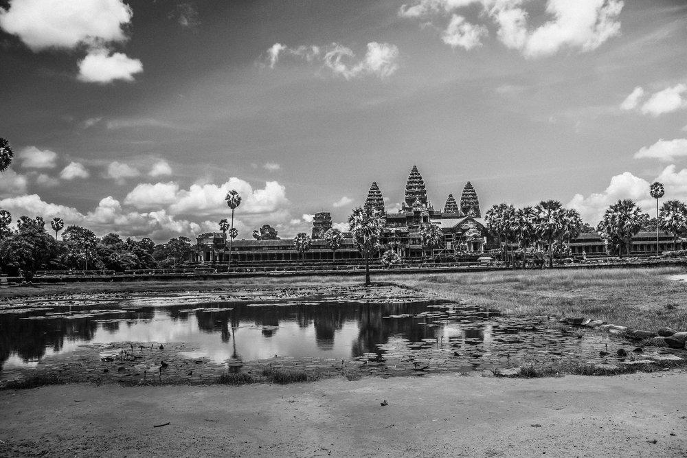UNESCO World Heritage Site, Angkor Wat.