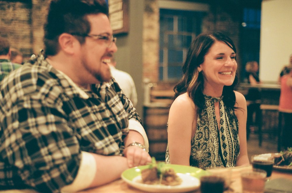 guests enjoying the dinner (4 Hands Dinner)