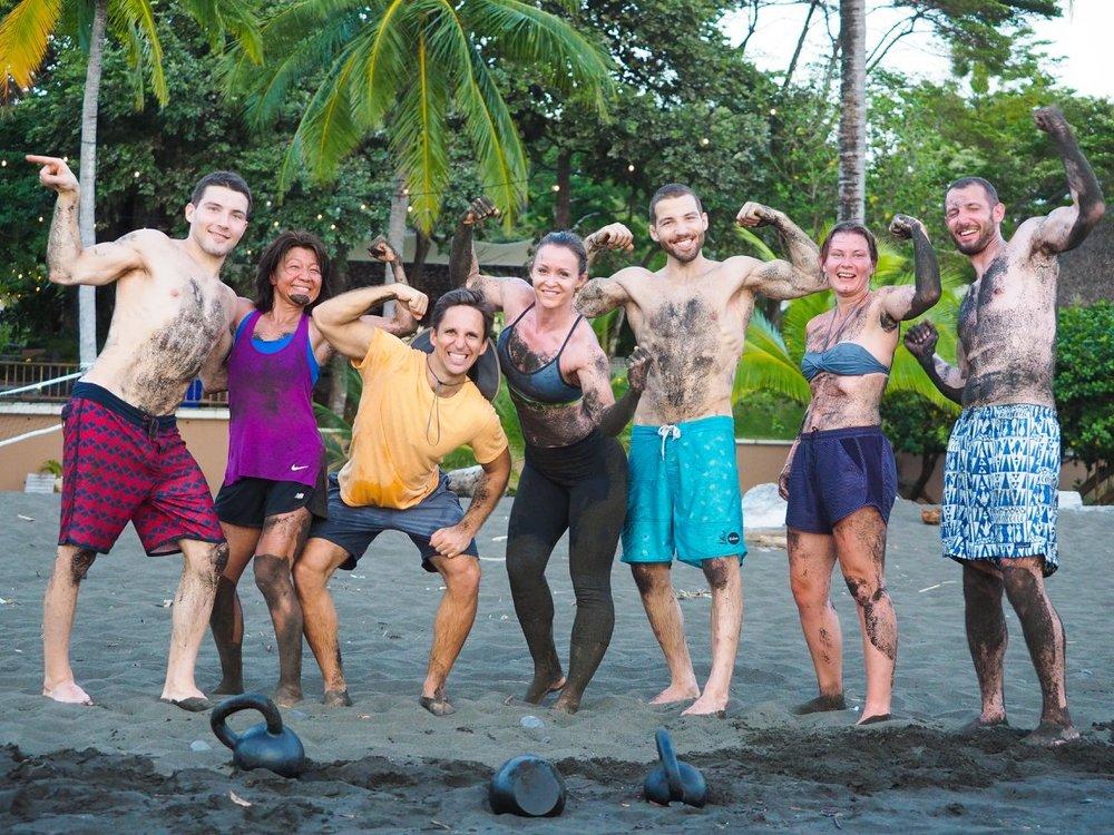 Beach Workout in Cambutal, Panama (RUNGA Retreat 2017)