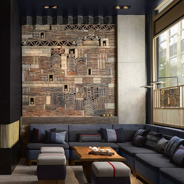 The Nobu Hotel Shoreditch in London, inspired by East Asian design and minimalist aesthetics . . . #architecture #design #eastmeetswest