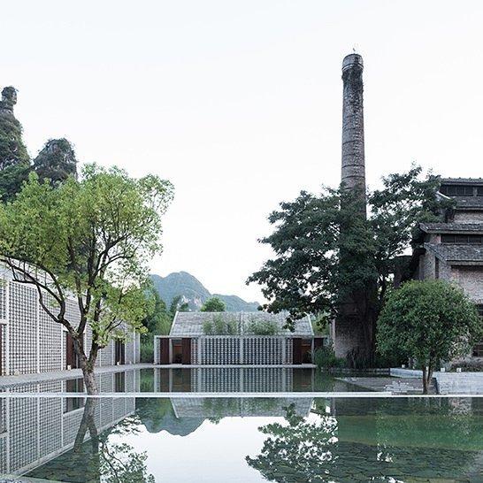 1960's sugar mill turned hotel complex in Southern China's Guangxi region . . . #architecture #design #interiordesign