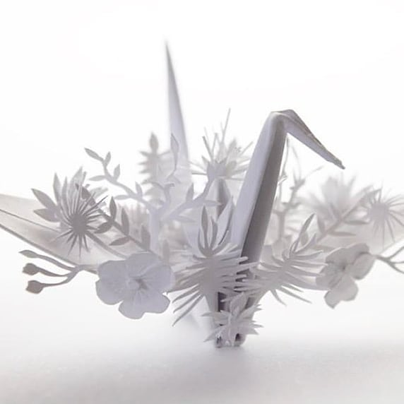 A small sampling of work from self-professed origami enthusiast Cristian Marianciuc . . . #design #origami #papercranes