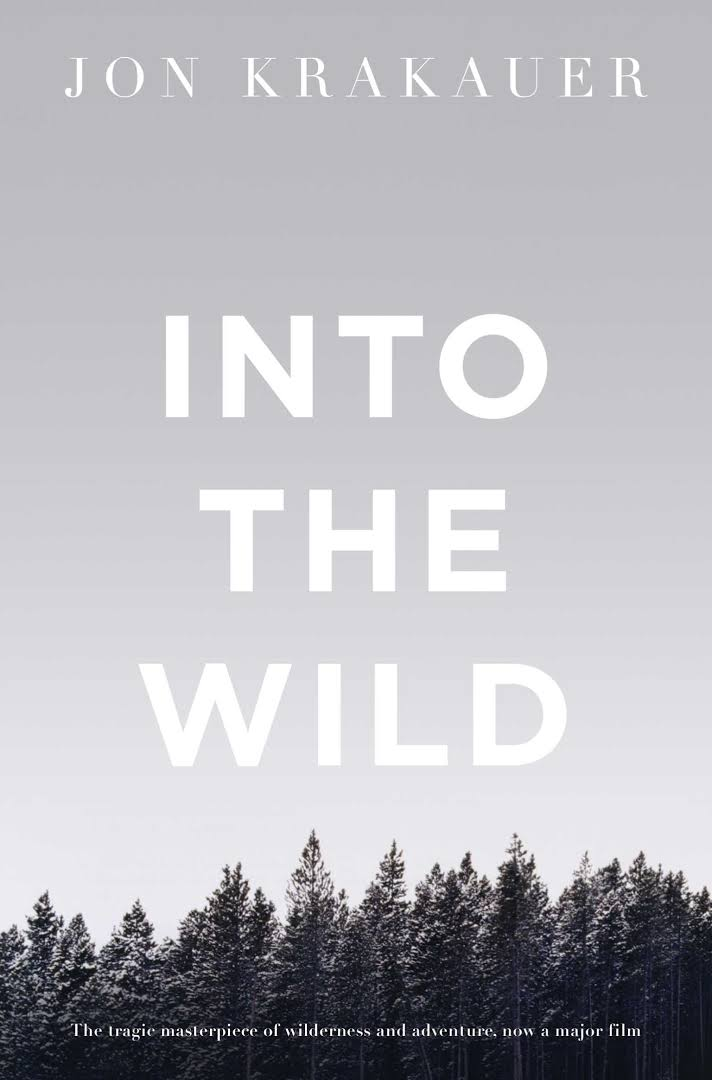 Into the Wild - Jon Krakauer's Into the Wild examines true story of Chris McCandless, a young man, who in 1992 walked deep into the Alaskan wilderness and whose SOS note and emaciated corpse were found four months later, internationally bestselling author Jon Krakauer explores the obsession which leads some people to explore the outer limits of self, leave civilization behind and seek enlightenment through solitude and contact with nature.