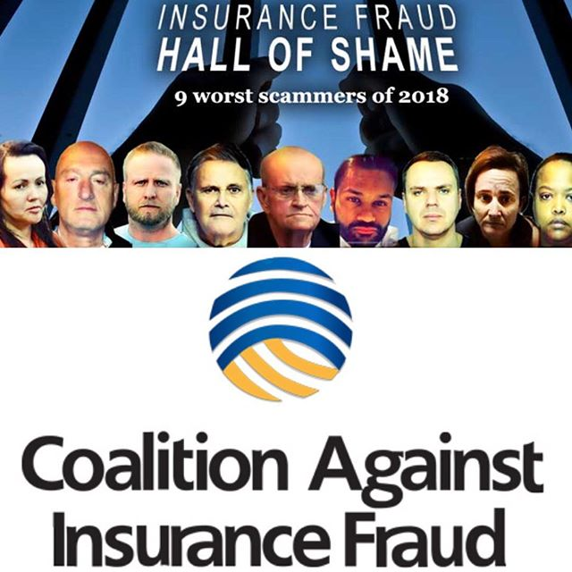 The Coalition's 2018 Insurance Fraud Hall of Shame is now posted: www.insurancefraud.org/hall-of-shame2018.htm.
