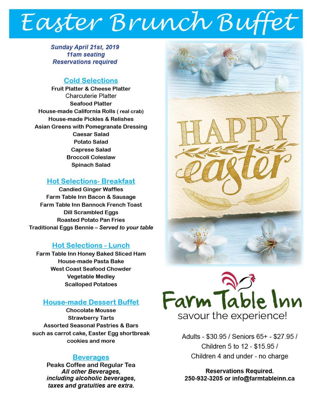 Farm Table Inn Easter Brunch Buffet 2019.jpg