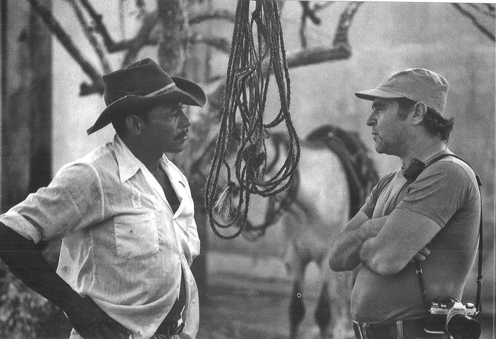 Joaquín Cortés con Enrique Altahona, El Domador | Foto: Jorge Beltrán