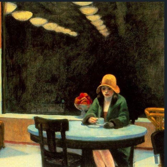 Edward Hopper (Nyack, 1882 - Nueva York, 1967) . Pintor y grabador estadounidense. Estudió en la School of Art de Nueva York y hasta 1920 se dedicó a la ilustración y al grabado . Es uno de los máximos representantes del realismo estadounidense . Sus obras se caracterizan por la simplicidad geométrica y por el tratamiento de los personajes, paralizados y aislados en el paisaje urbano . #art #artist #drawing #artwork #sketch #photography #love #illustration #photooftheday #instagood #design #digitalart #photo #draw #painting #sketchbook #instaart #tattoo #music #arte #ink #artistsoninstagram #instagram #portrait #like #picoftheday #cute #arts #beautiful #Edward Hopper