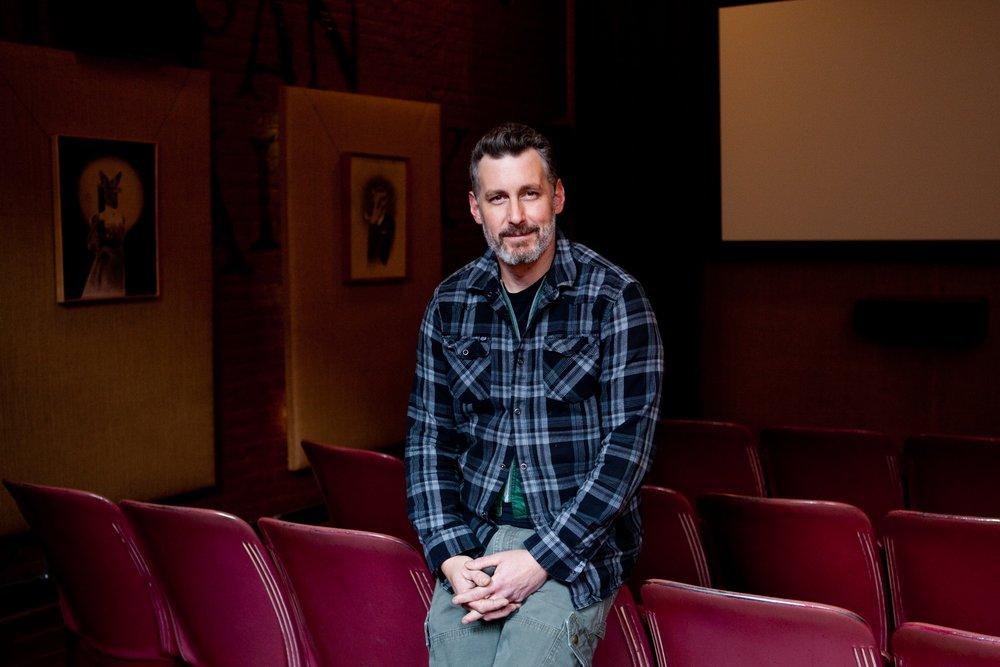 Nick Nelson, 38, at Tin Pan Theater