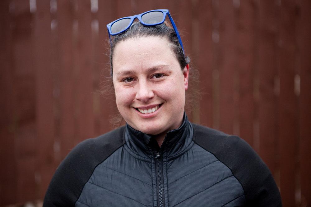 Erin Pryor, 29, outside Humm Kombucha