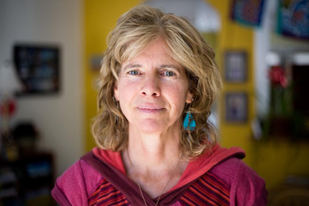 Carol Delmonico, 59, at her home