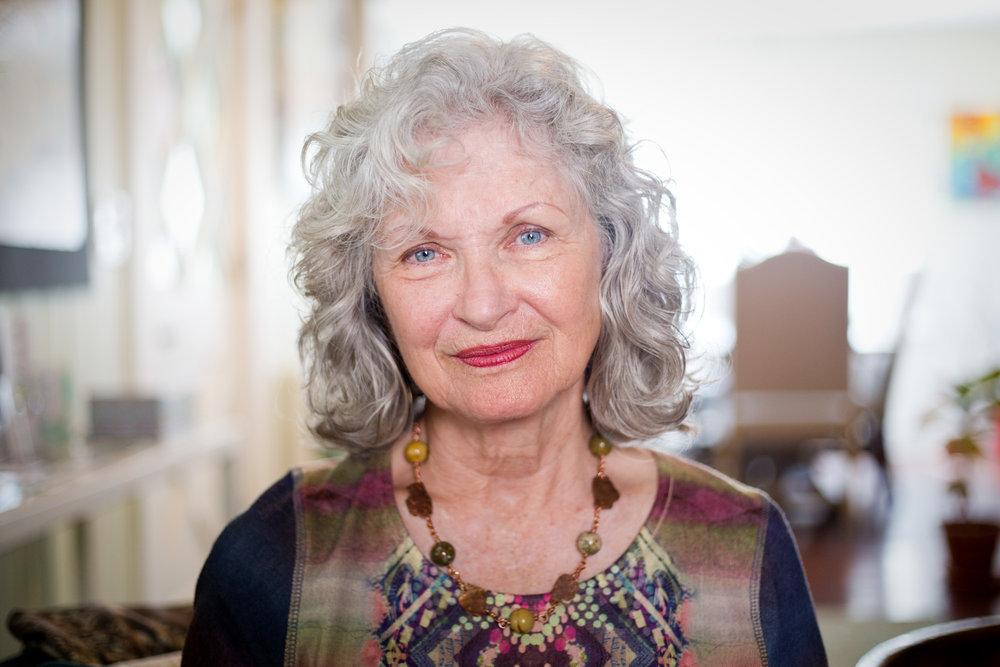 Darlene Gertsch, 72, at Good Grief Guidance