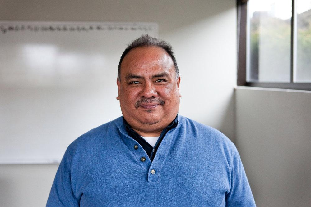 Oscar Gonzalez, 56, at the Latino Community Association