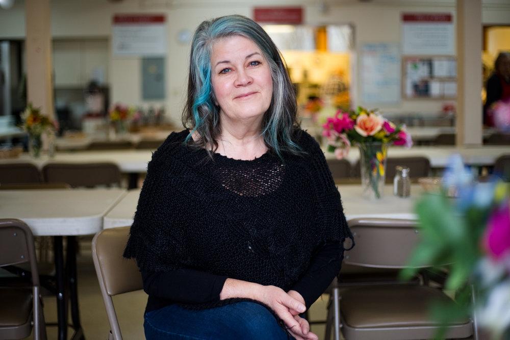 Donna Burklo, 54. at Family Kitchen