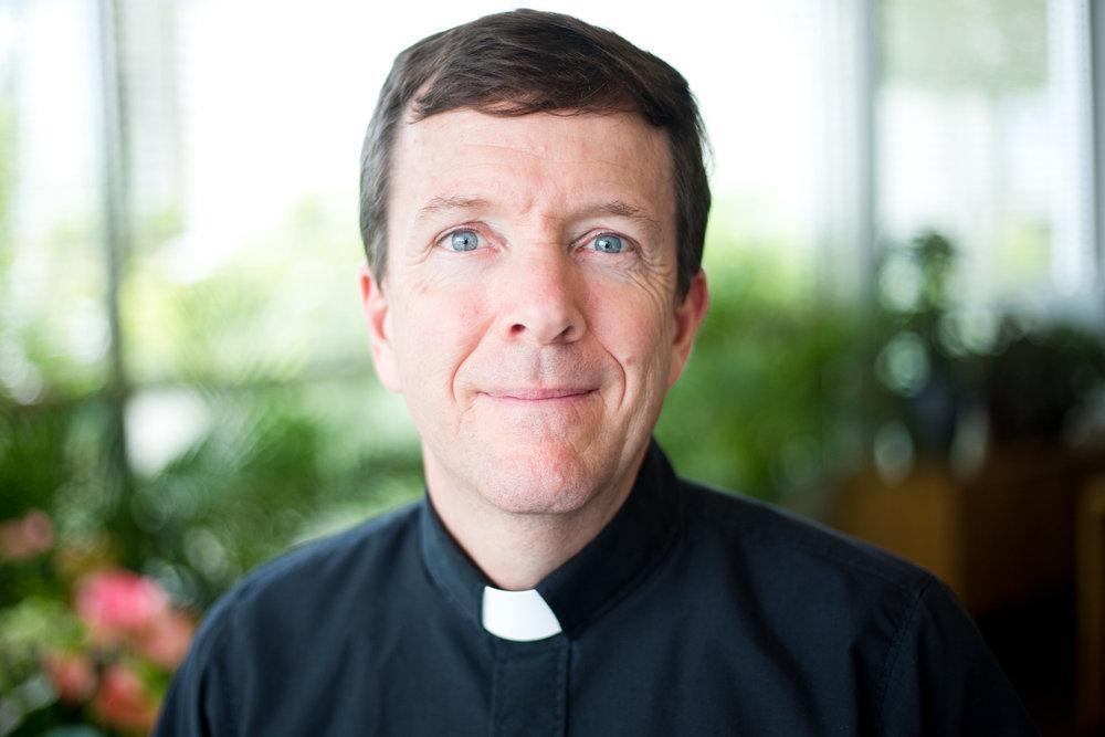 Jim Radloff, 57, at Holy Communion Church