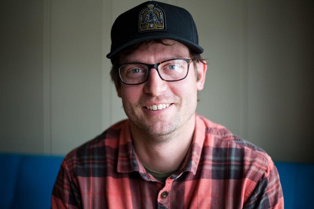 Dan Baumann, 38, at The Commons