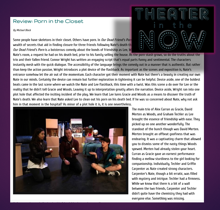 THEATRE IN THE NOW