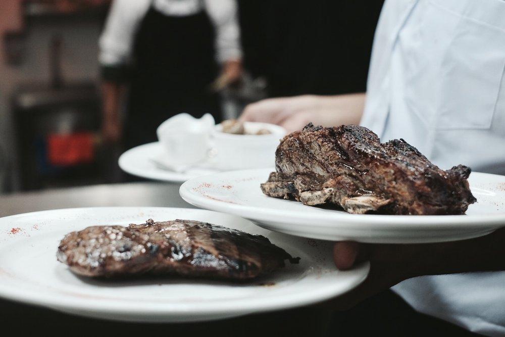 Vacio y Costilla // Flank Steak and Beef Ribs