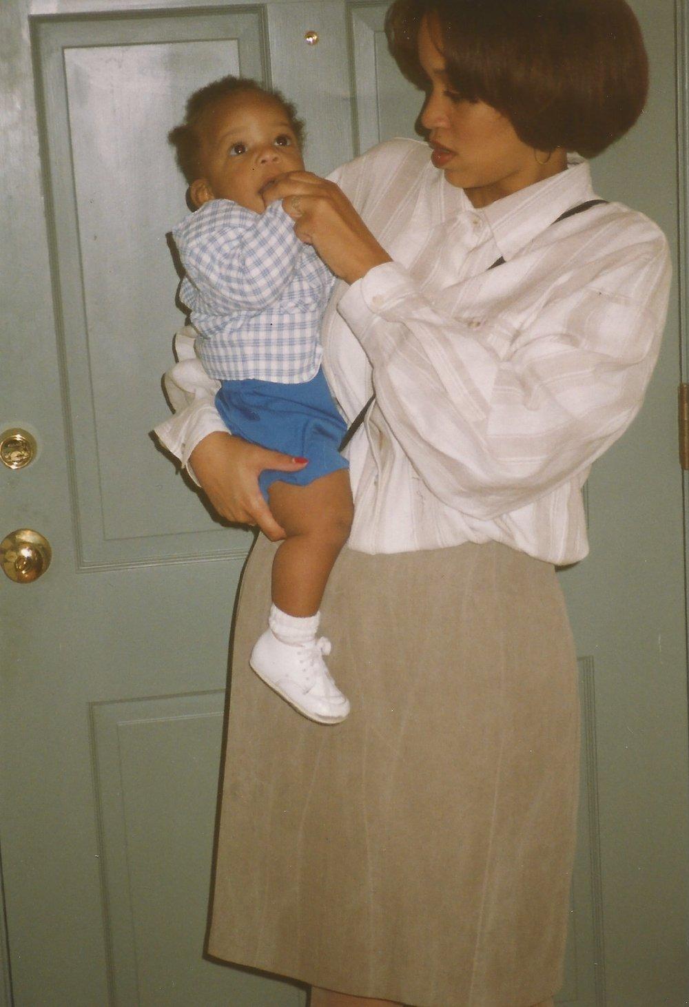 Jen and Baby Blaize.jpeg