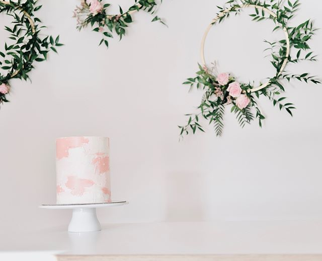 [ cake & flowers ]