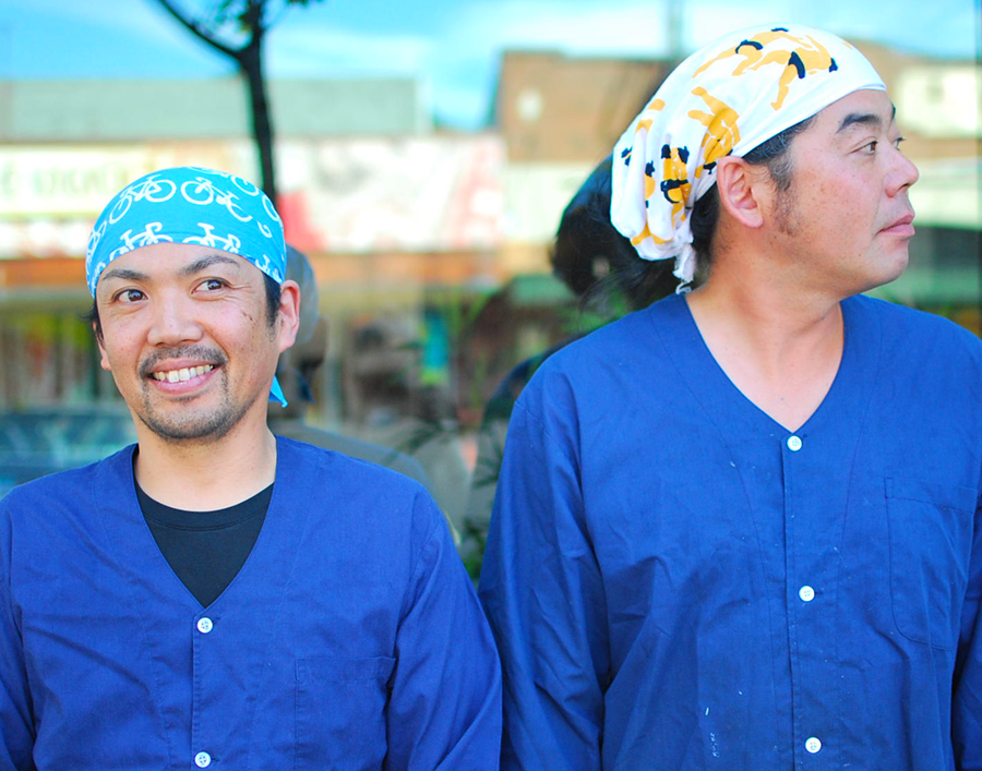 Owner Keisuke Kobayashi & head chef Koichi Hamma