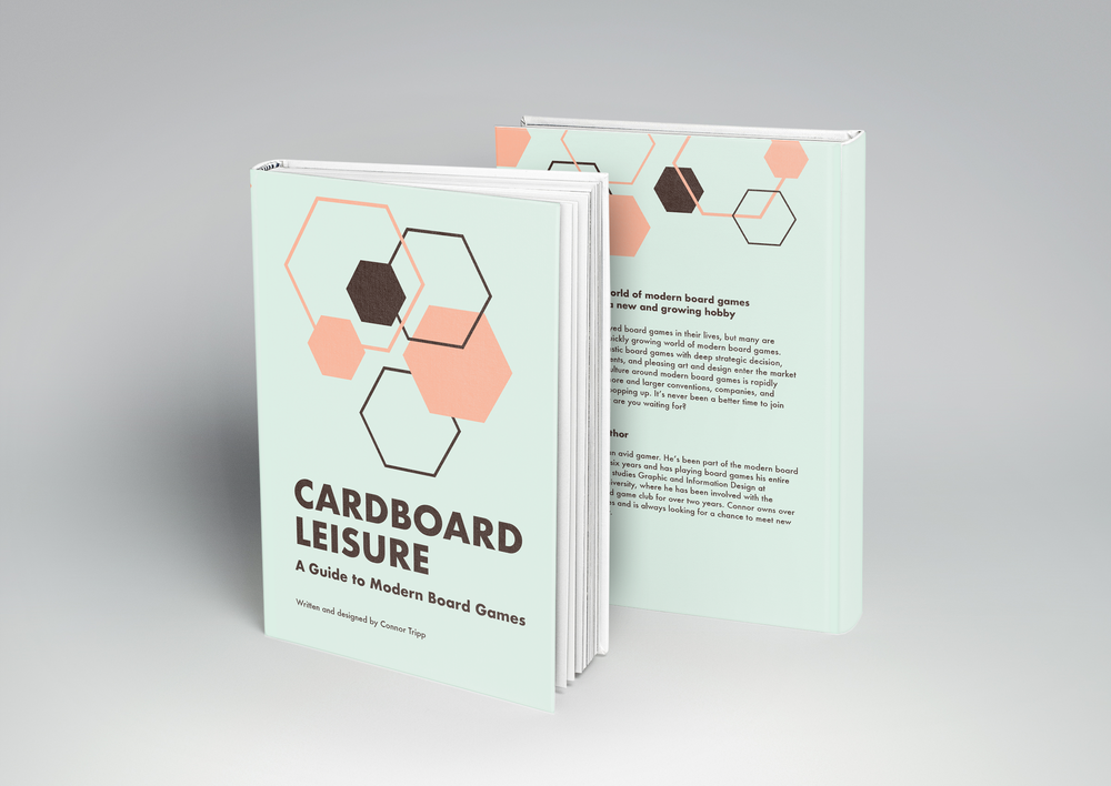 Cover for  Cardboard Leisure: A Guide to Modern Board Games