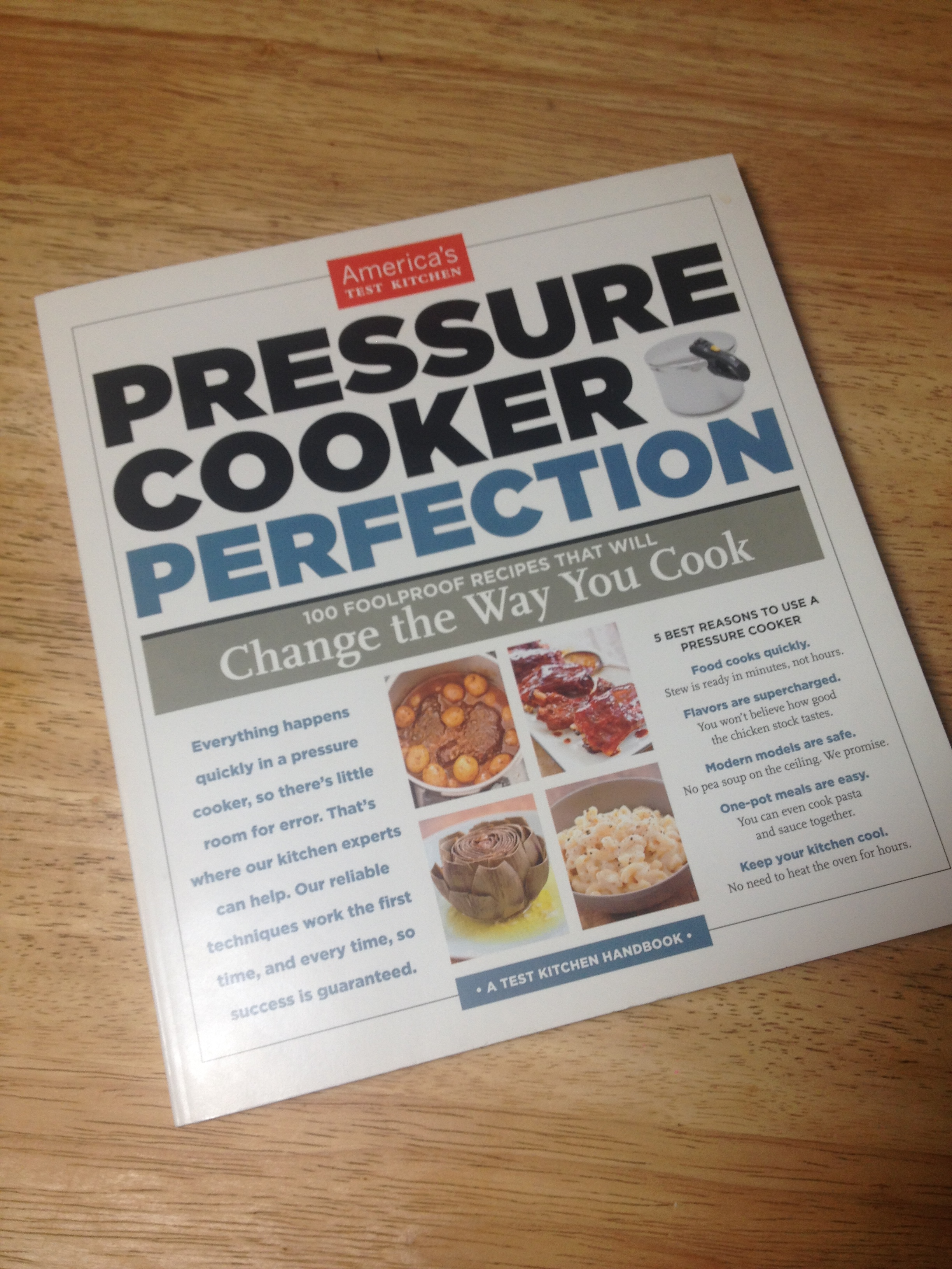 A must-have pressure cooker cookbook. Seriously.