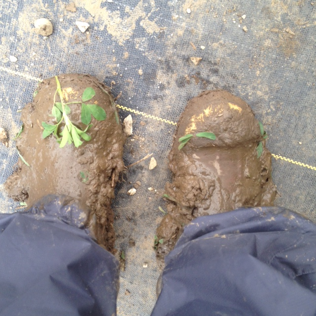 My mud covered boots