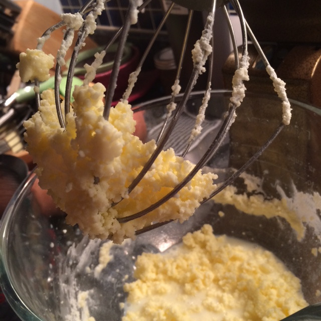And then we made butter...