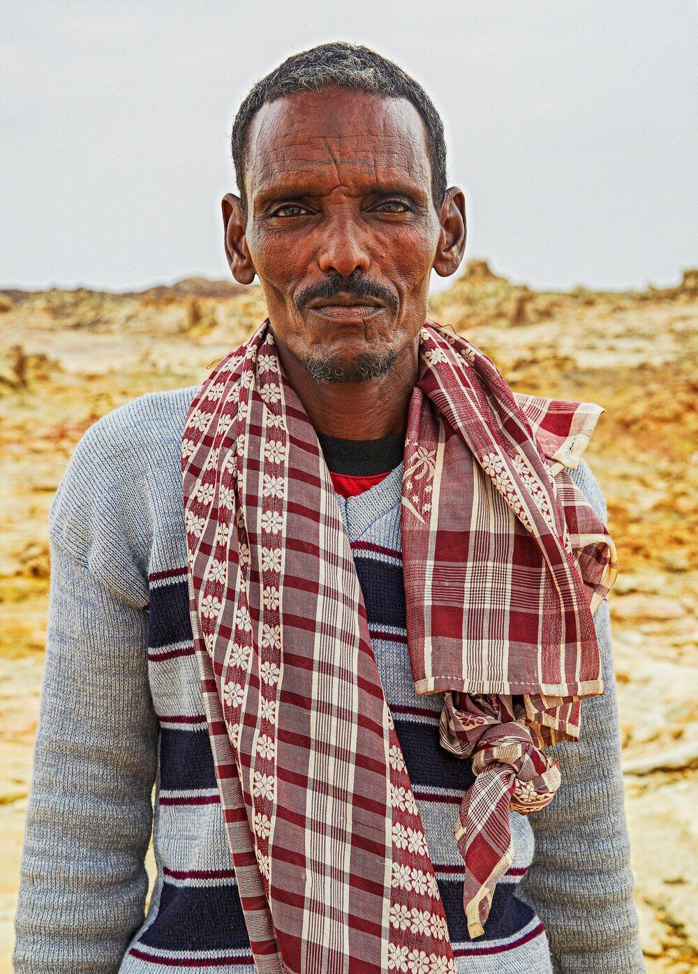 Tigray Man  Afar Region, Northern Ethiopia