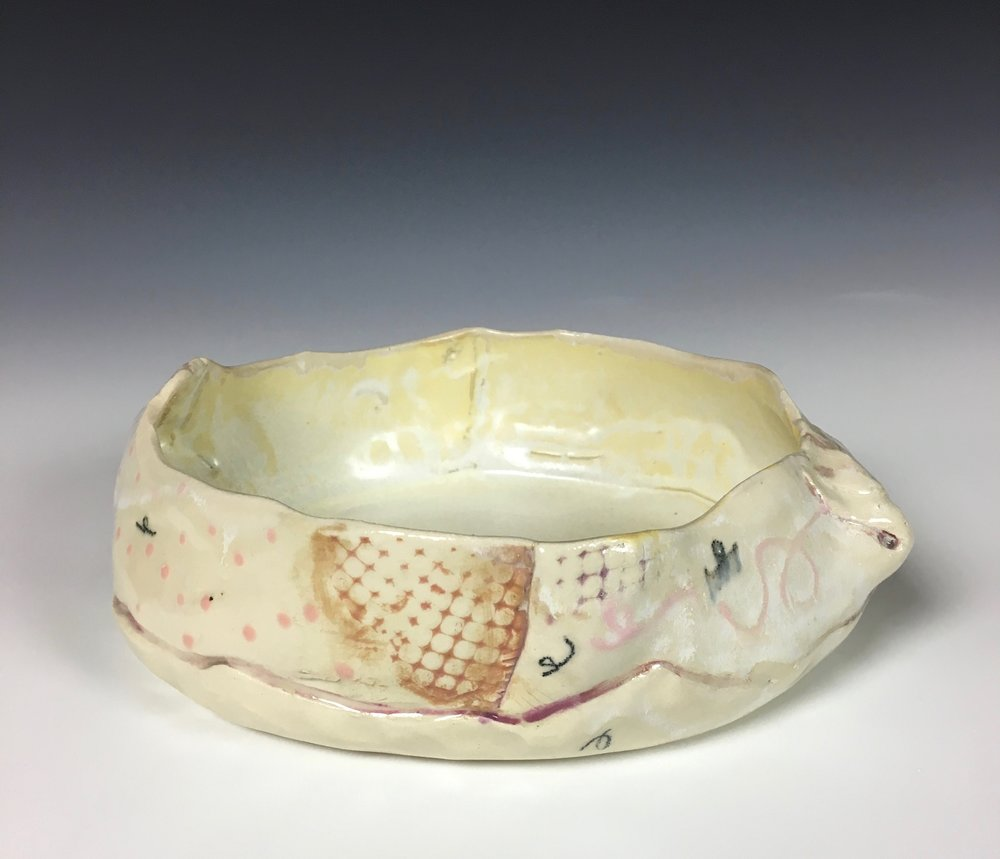 Large Bowl , Stoneware, Cone 5