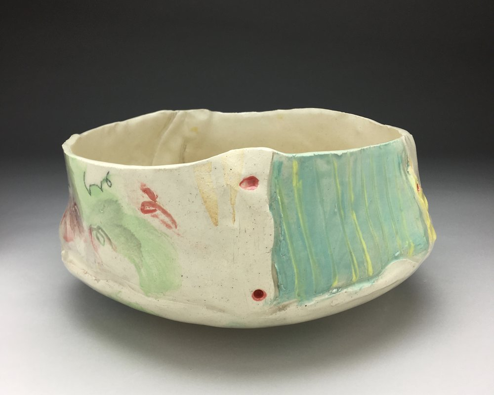 Serving Bowl,  stoneware, cone 5