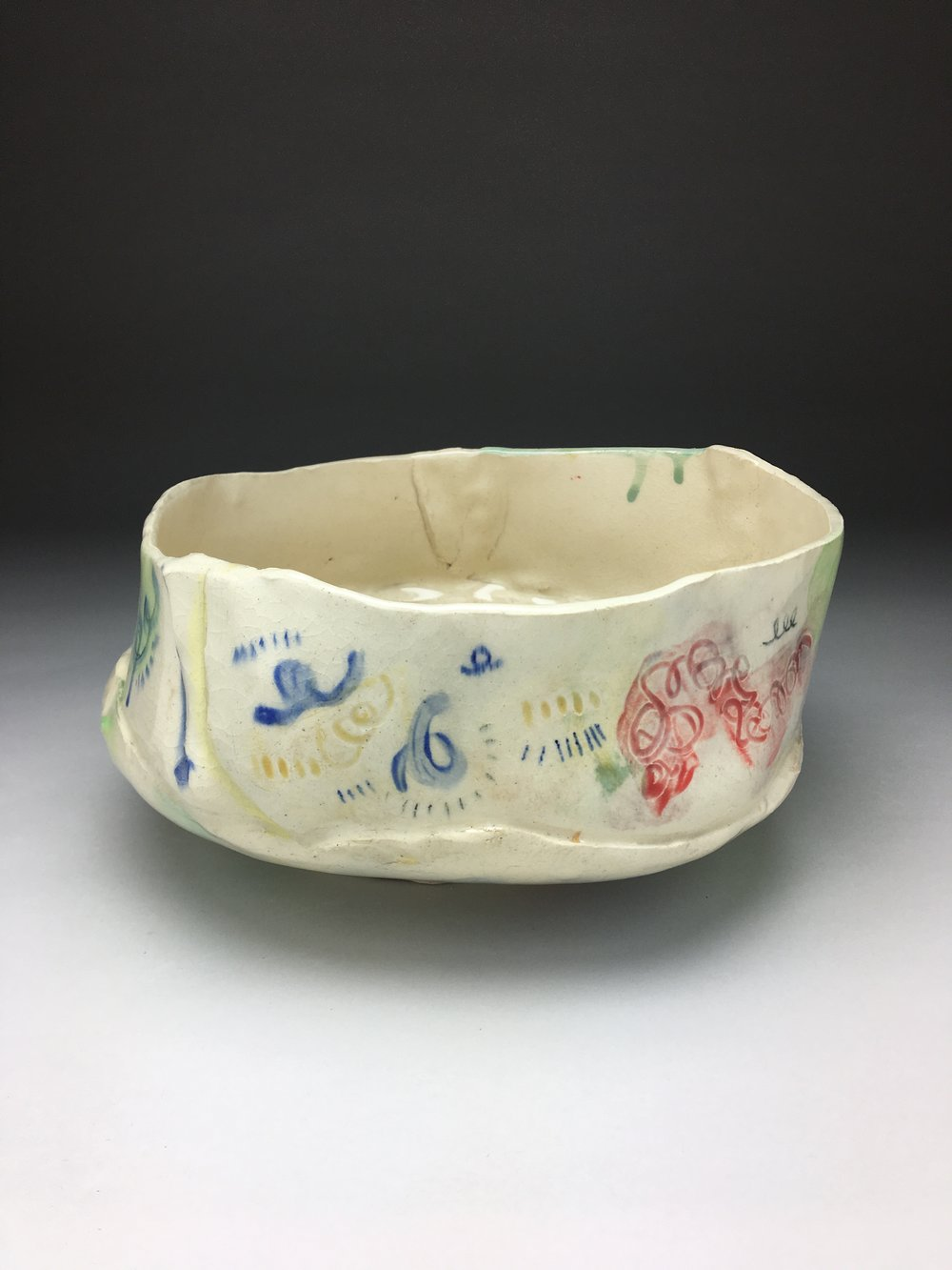 Serving Bowl,  alternative side detail