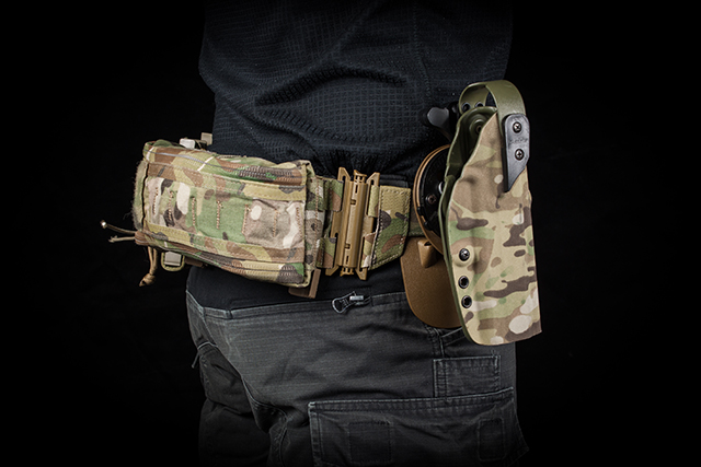 Holster module compatible with various holsters