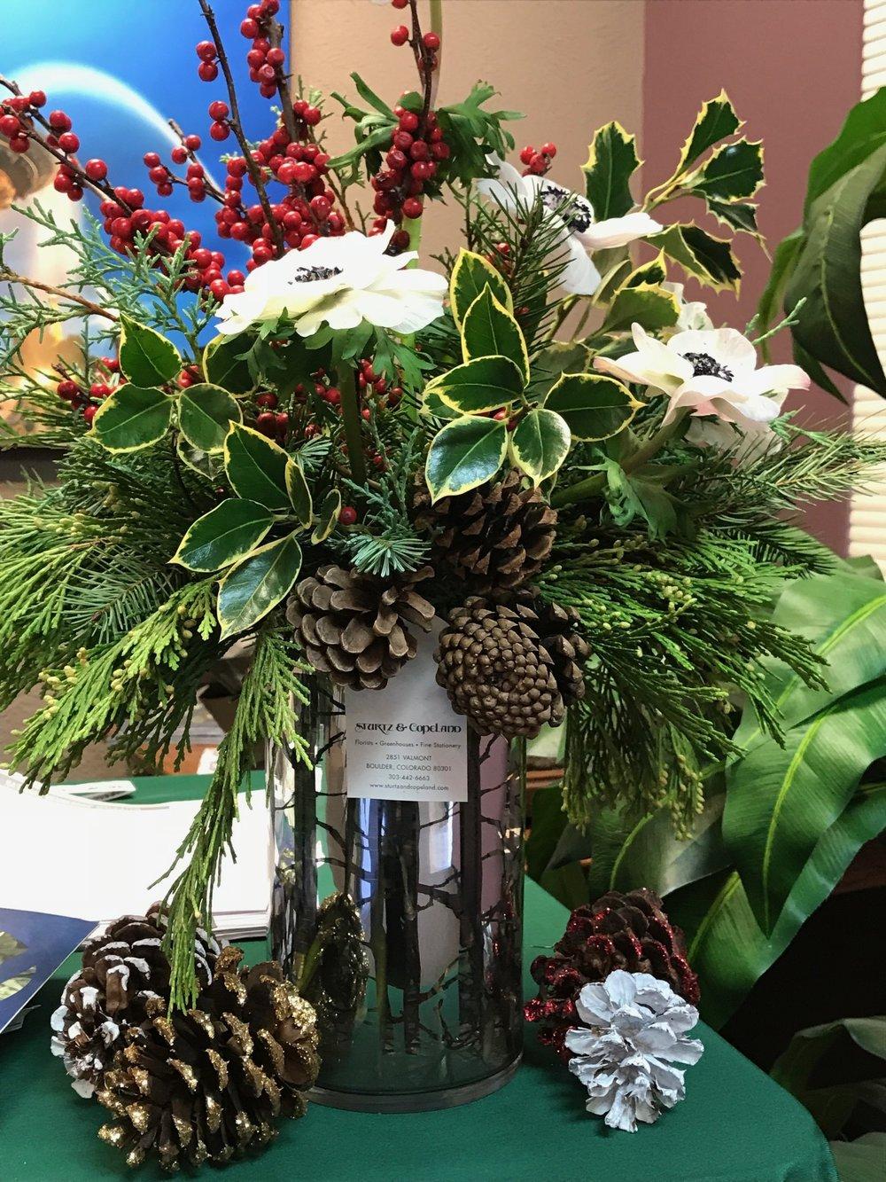 Sturtz and Copeland Winter Bouquet