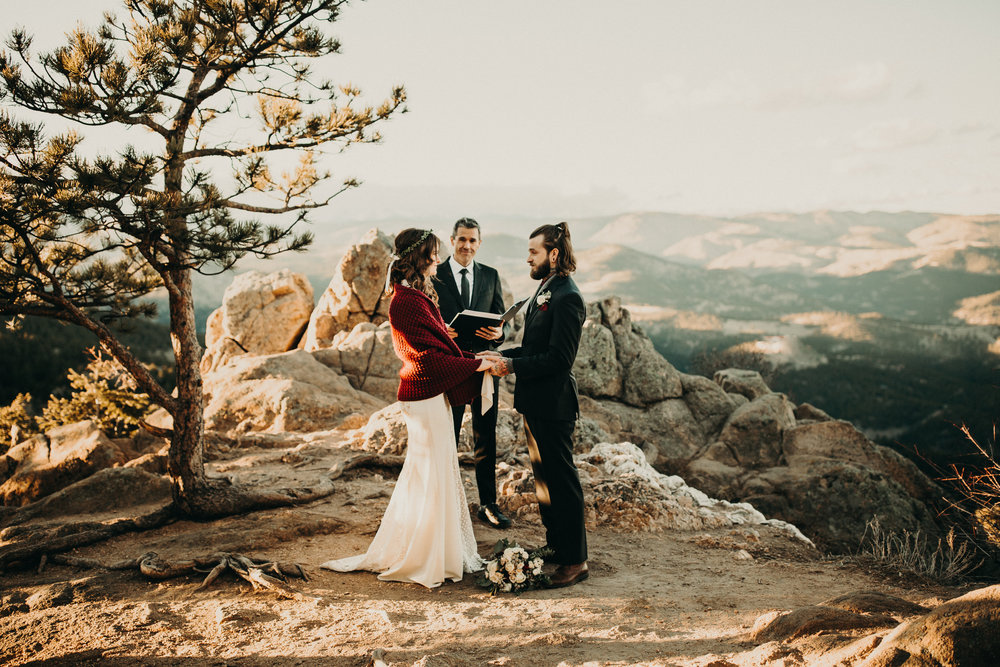 Boulder Elopement Ceremony