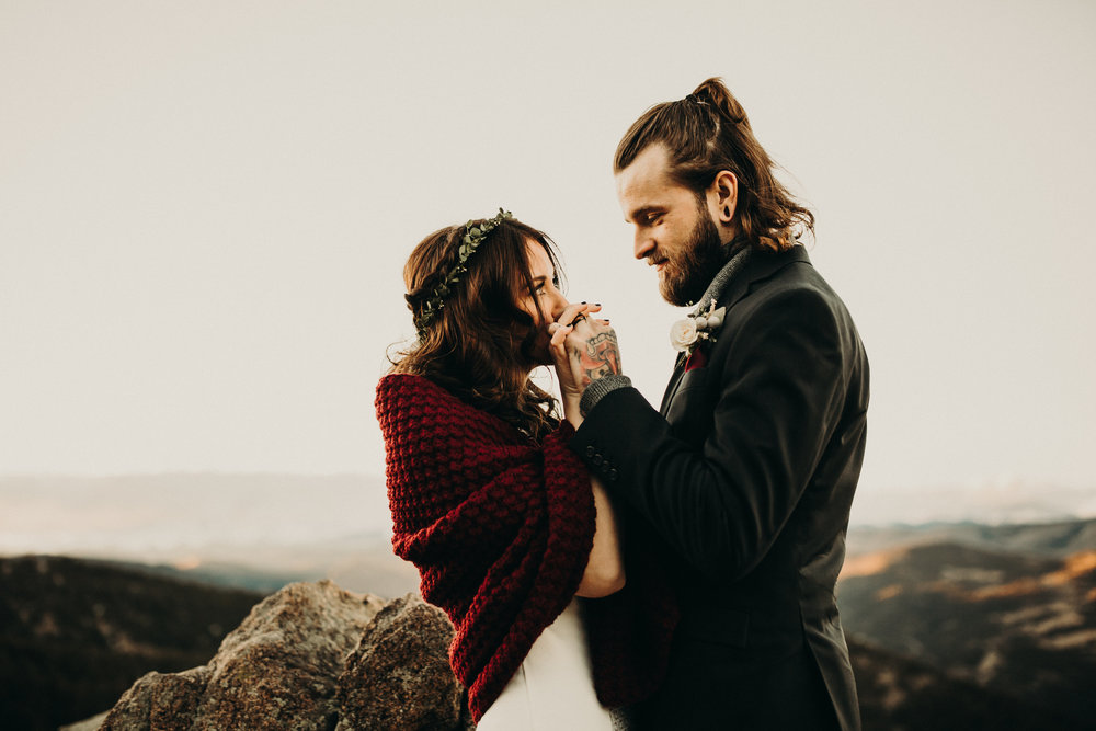 Boulder, Colorado Elopement
