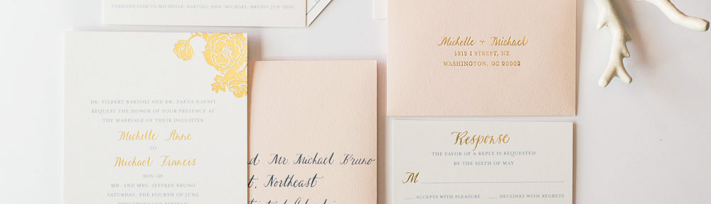 Your Guide to Custom Wedding Invitations LBC Design Co