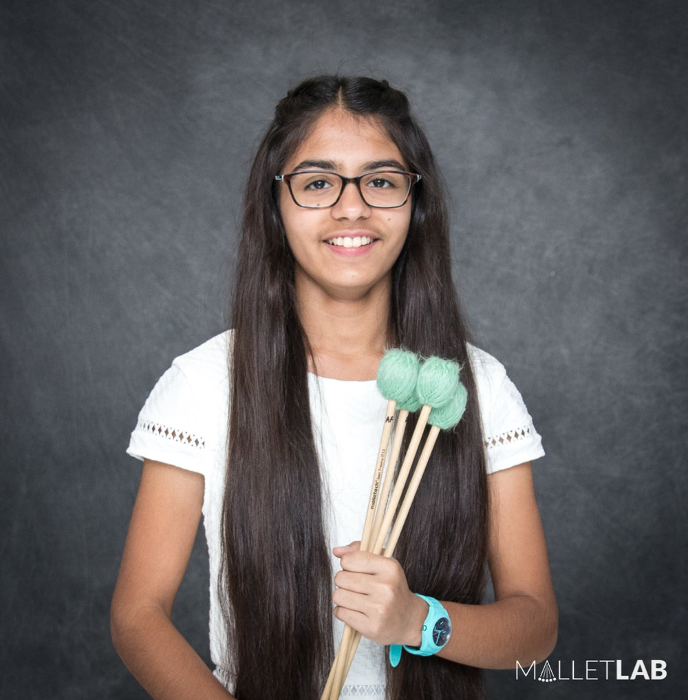 Aanika Patel | 2018 Member - During the week of MalletLab, I expanded my musical career with some of the most prestigious percussionists from all over the world. They helped me learn about all aspects of music, ranging from solo-playing, to composing. After that week, I walked away overflowing with knowledge about how I can make my playing better as a whole.