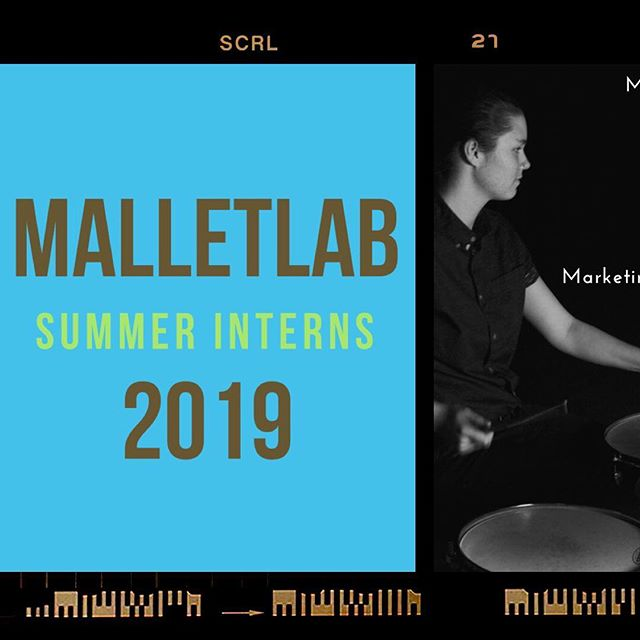 CONGRATULATIONS TO OUR 2019 MALLETLAB INTERNS @marysdrums @abruhcadabruh @k.a.y.smith @_seandres & @j_cai1018 💥This was one of the hardest decisions we've had to make because of how many amazing applicants there were! We hope to see all of you at #Malletlab19 !! •••••••••••••••••••••••••••••••••••••••••••••••••••••••••••• #malletlab #malletlab19 #itsnotaxylophone  #vibraphone #marimba #xylophone #memberfeature #percussioneducation #inspiration #pas #frontensemble @innovativepercussion @ludwigmusser @beetlepercussion @sabiancymbals_official @percussivearts