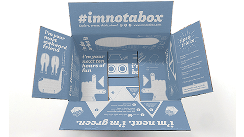 Starting this month some Zappos customers will get something much more than their new shoes in the mail. The brand has redesigned a number of its delivery boxes with the goal to spark ideas and build on people's imaginations in a campaign called #Imnotabox.  Continue reading …