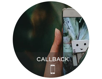 Request a callback by phone
