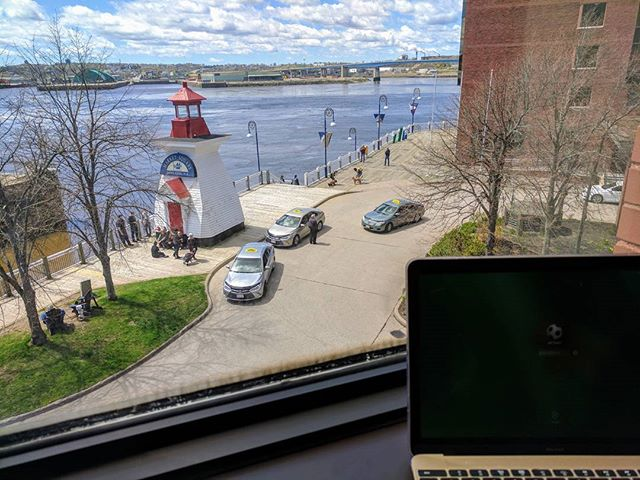View from my office today. #nb #workanywhere #digitalcitizens #lovelifeuptown