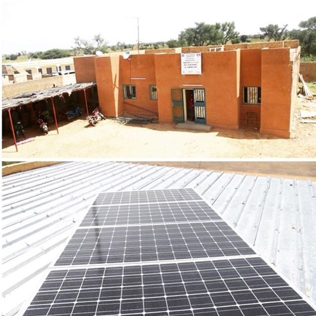 Thanks to #eliminatepovertynow and #pencilsforkids the LIBO staff at the Education Centre can now use solar power for their computer and electrical needs! 👍🏽