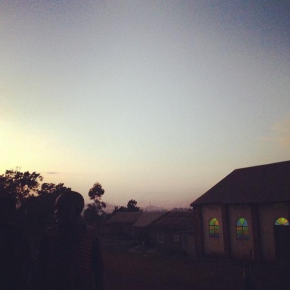 village outside of Entebbe, Uganda, 2014.