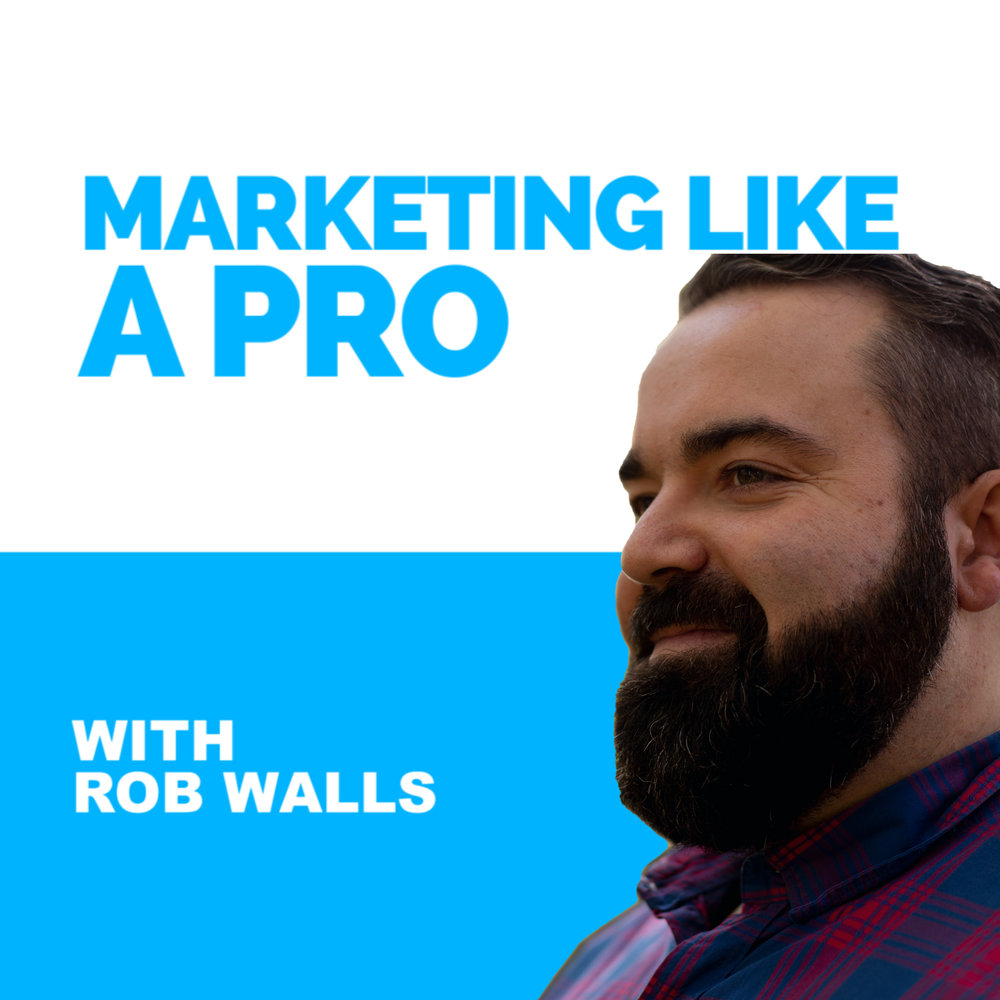 """Join us each week! - The """"Marketing Like A Pro Podcast"""" is designed to help you increase your influence and reach more people through your business."""