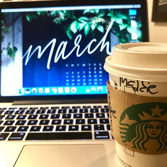Rabbit Rabbit! Currently writing my March goals. My biggest one is to not spend any unnecessary money. Anyone else do monthly goals? Comment with yours below! 💙 • • • • #rabbitrabbit #morning #march #monthlygoals #goaldigger #goals #coffee #caffeine #coffeelover #washingtondc #washington #dc #thedistrict #arlington #arlingtonva #dmv #styleblogger #collegeblogger #dcblogger #dmvblogger #virginiablogger #novablogger #millennialblogger #collegeblogger #lifestyleblogger #workdaywednesday