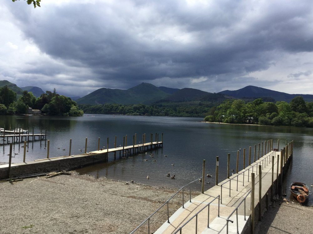Images: Whitehaven harbour and Derwentwater Lake, Keswick. Photos: Stephen Burns.