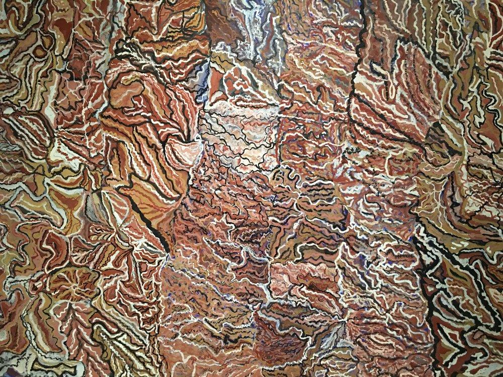 Yalgamulchen #2     (detail) - by Mavis Ngallametta